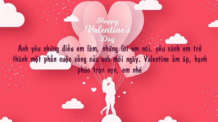 Valentine 2021 - Những lời chúc ngày lễ tình nhân ngọt ngào