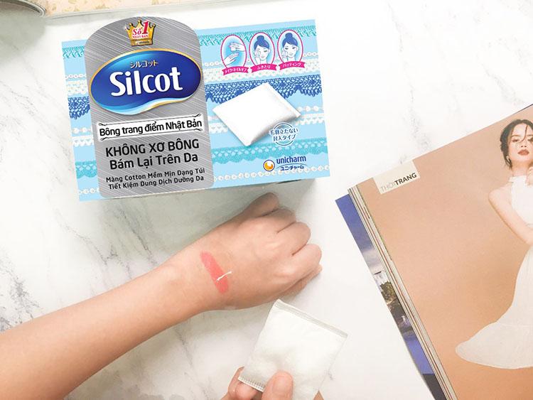 Sản phẩm bông làm sạch Silcot